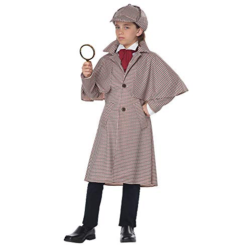 California Costumes Famous Detective Child Costume-X-Large