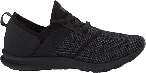 New Balance Women's FuelCore Nergize V1 Sneaker, Black/Magnet, 11 M US