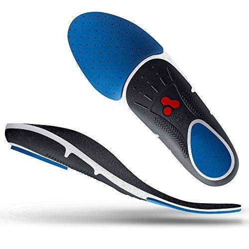 Protalus M100 Max Series– Patented Stress Relief Replacement Premium Shoe Inserts, Increase Comfort, Relieve Plantar Fasciitis, Anti Fatigue, Alignment Improving Shoe Insoles - for Men Size 14