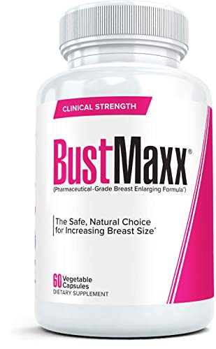 BustMaxx: The Most Trusted Breast Enhancement Pills   Natural Breast Enlargement and Female Augmentation Supplement for Breast Growth, 60 Capsules