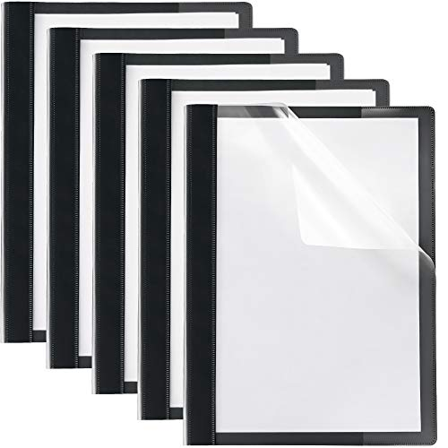 (30 Set) Report Covers Presentation Folders Clear Folder Front Cover Report Cover Portfolio Plastic Fasteners Prong Resume Project Poly Oxford Premium Professional Lay Flat // Paper Plan