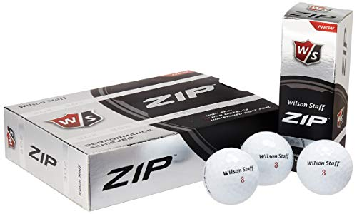 Wilson Staff Zip Golf Balls (Pack of 24)
