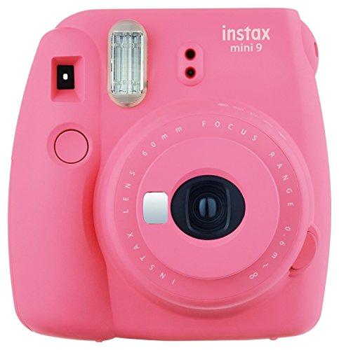 Fujifilm Instax Mini 9 Instant Camera - Flamingo Pink (Renewed)