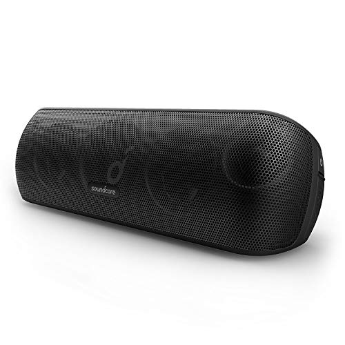 Soundcore Motion+ Bluetooth Speaker with Hi-Res 30W Audio, BassUp, Wireless Speaker, App, Custom EQ, 12H Playtime, Waterproof, USB-C, For Home Office