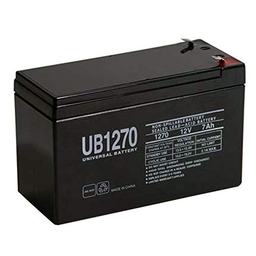 UPG 12V 7AH Replacement Battery for ADT 477967