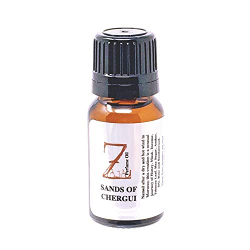Sands of Chergui Perfume by ZAJA Natural 10mL Honey Musk Incense Tobacco Leaf Hay Sugar Amber Iris Rose Sandalwood