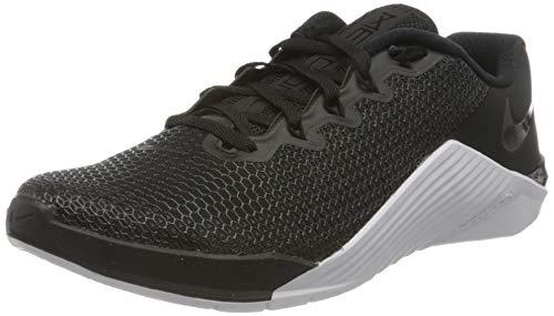 Nike Metcon 5 Women's Training Shoee Black/Black-White-Wolf Grey 8.0