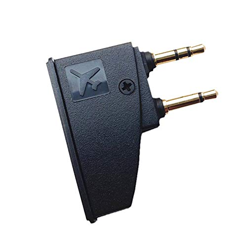 3.5MM Airplane Headphone Adapter for Bose Quiet Comfort QC15 QC25 QC35 and More Headphones