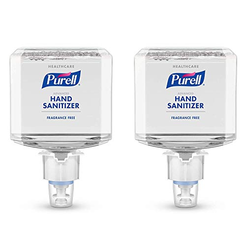 GOJO 5051-02 PURELL Healthcare Advanced Hand Foam Sanitizer, Shape, (Pack of 2)