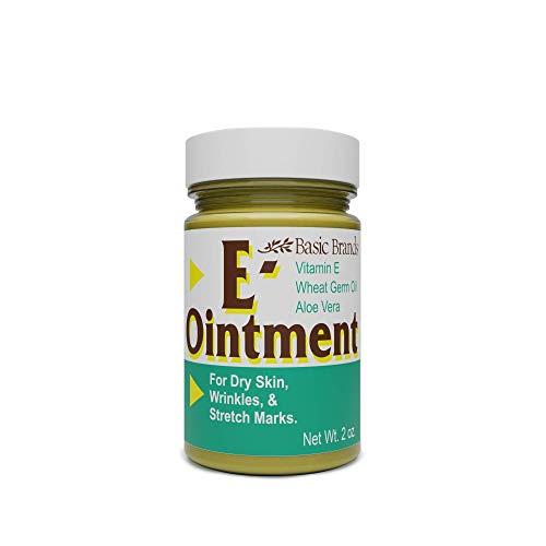 Basic Brands Vitamin E Ointment, 2 oz, Original (Pack of 3)