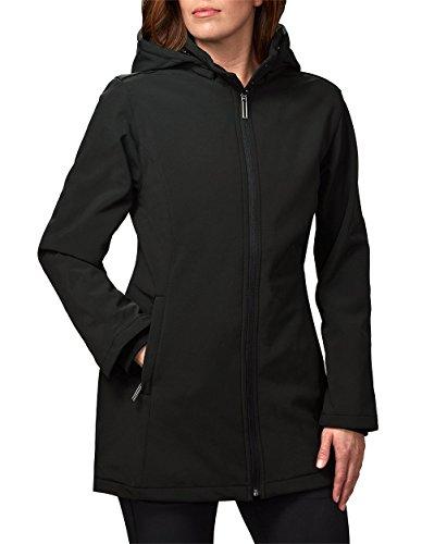 SCOTTeVEST Penny Winter Coats for Women, 19 Pocket Women's Jacket with Hood, Fall Jacket Black