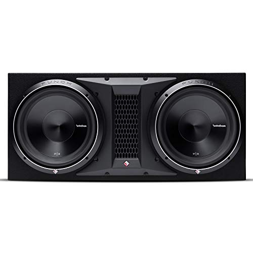 Rockford Fosgate P3-2X12 Punch Dual P3 12' Loaded Enclosure Ported Subwoofer