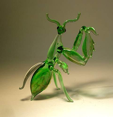 Glass Praying Mantis Figurine
