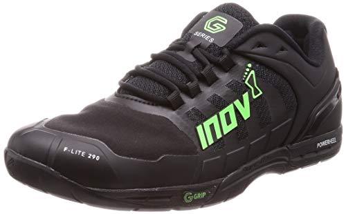 Inov-8 F-Lite G 290 - Cross Training Shoes - HIIT Shoes - Black/Green - 9