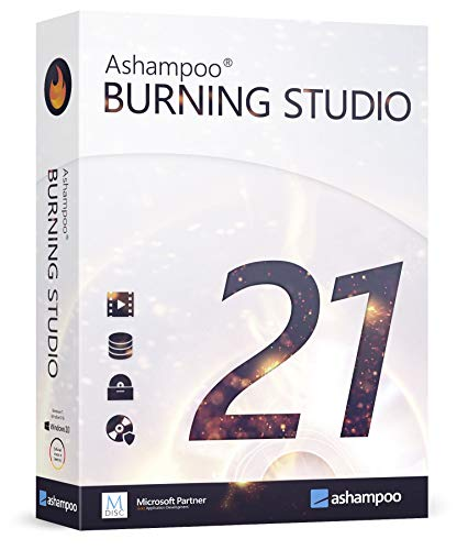 Burning Studio 21 for Windows 10 / 8.1 / 7 - burn and copy your videos, photos, music to CD, DVD & Blu-ray - additional functions - create covers, inlays, disk labels