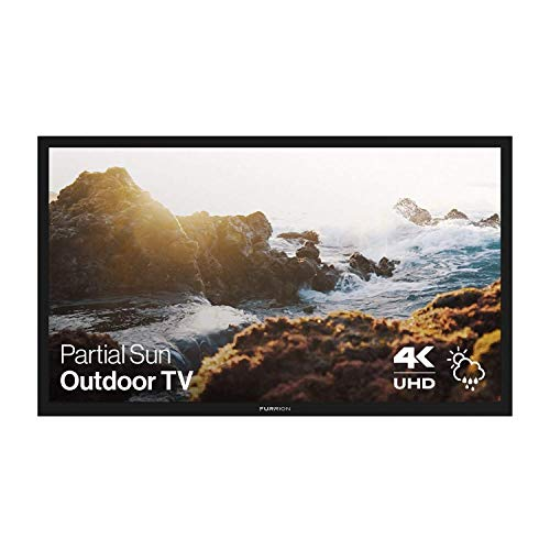 Furrion FDUP55CBR Aurora Partial Sun Weatherproof 4K Outdoor TV with an Additional 1 Year Coverage by Epic Protect (2019)
