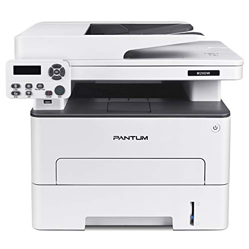 Printer Scanner Copier All-in-one Laser Printer, Wireless&Auto Two-Sided Printing, Print at 35PPM, Pantum M29DW(V3T76A)