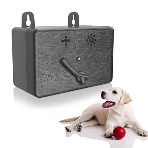 JZORI Anti Barking Control Device, Upgraded Mini Ultrasonic Dog Bark Deterrent Silencer, Sonic Anti-bark Repellent No Bark Stop Barking Training Control Device for Dogs, Up to 50FT Range