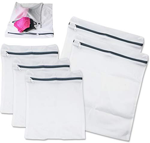 Simple Houseware Laundry Bra Lingerie Mesh Wash Bag (2 Large,3 Medium)