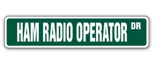 SignMission 4' X 18' Aluminum Sign, Ham Radio Operator