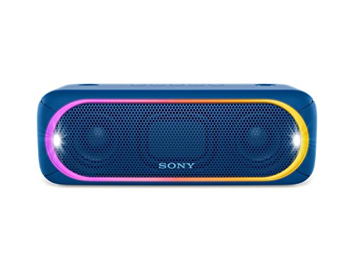Sony SRSXB30/BLUE Portable Wireless Speaker with Bluetooth, Blue