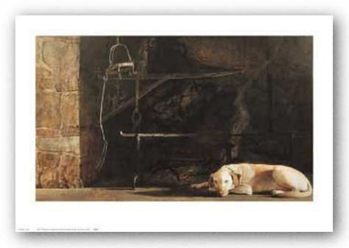 New York Graphics Ides of March by Andrew Wyeth 19.75'x33' Art Print Poster