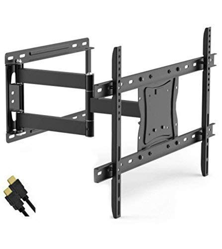 Onn Full Motion Articulating Tilt/Swivel Universal Wall Mount Kit for 19' to 84' TVs with HDMI Cable (ONA16TM014E)