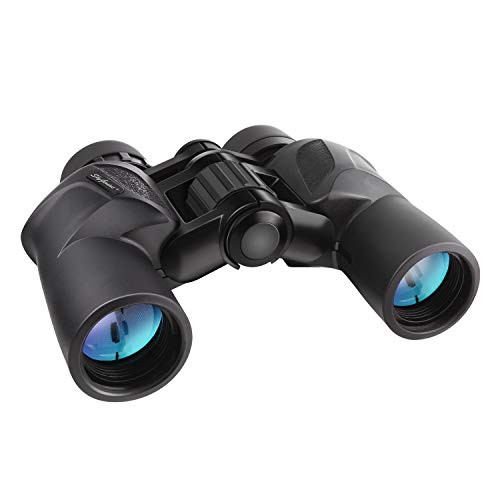 SkyGenius 7x30 Binoculars, Birding Binoculars for Adults Hunting Travelling Sightseeing with Low Light Vision