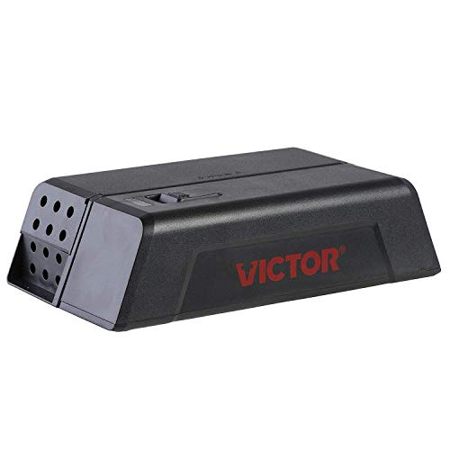 Victor M250S No Touch, No See Upgraded Indoor Electronic Mouse Trap - 1 Trap,Black