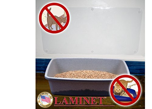 LAMINET The Original Deluxe Cat Wall Scratch Shield - Protect Your Walls with Our Deluxe Heavy-Duty Flexible Cat Scratch Shield - (32L x 16W - INCHES)