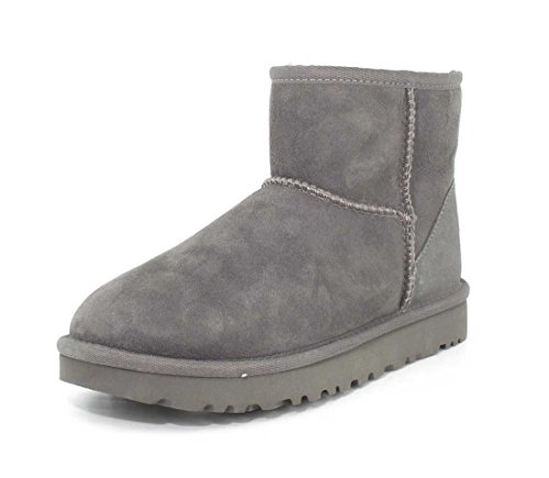 UGG Women's Classic Mini II Boot, Grey, 8