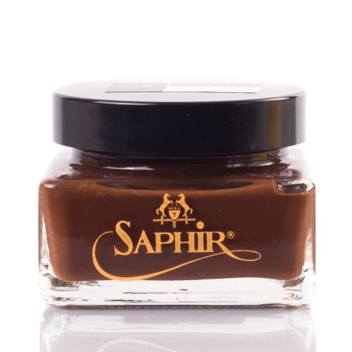 Saphir Medaille d'Or Pommadier Cream 75ml - Medium Brown
