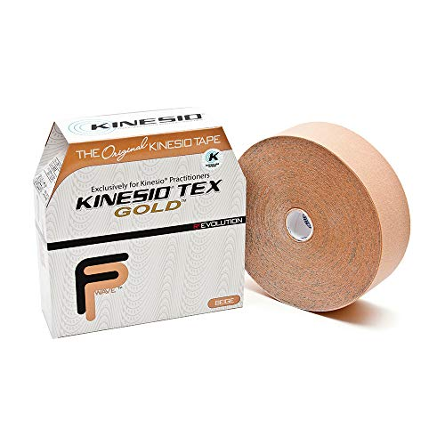 Kinseio Taping - Kinesiology Tape Tex Gold FP - Beige – 2 in. x 31.5m Bulk Roll