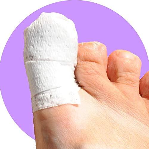 MediMitt ToeMitt Big Toe Bandages (Full Coverage Big Toe Bandage) (Medium 10-Pack)