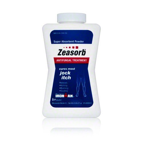 Zeasorb Super Absorbent Antifungal Treatment Powder for Jock Itch 2.5 oz by Zeasorb-Af