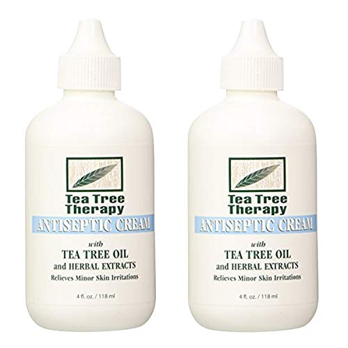 Tea Tree Therapy Antiseptic Cream, 4 Ounce (2-Pack)