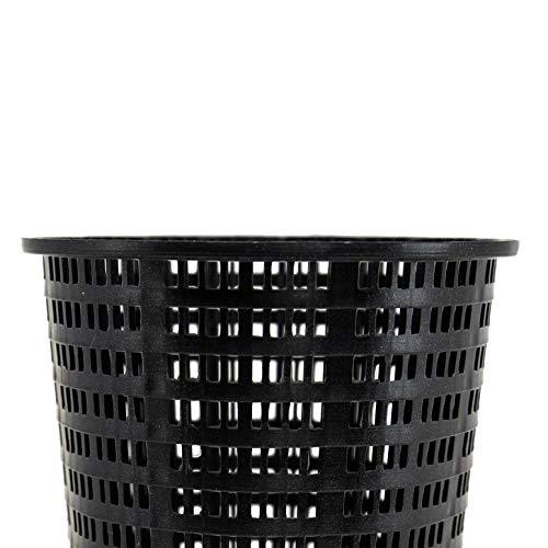 Hayward AXW431ABK Plastic Leaf Basket for Swimming Pool Leaf Canister, Black