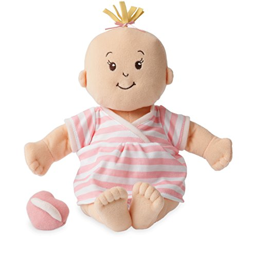 Manhattan Toy Baby Stella Soft First Baby Doll for Ages 1 Year and Up, 15'
