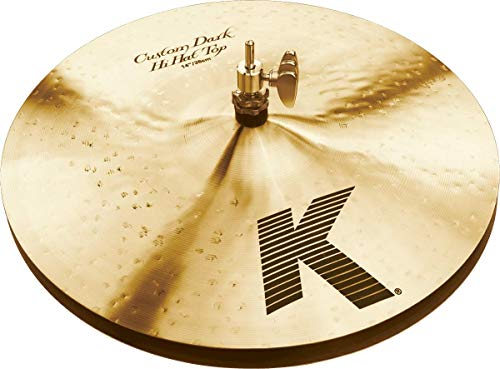 Zildjian K Custom 14' Dark Hi Hat Cymbals Pair