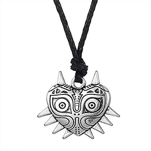 Legend of Zelda Majora's Mask Action Game Pendant Necklace for Men Women (ropechain)