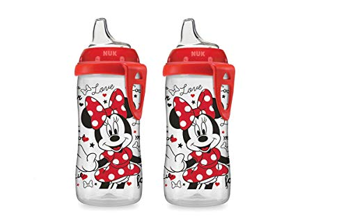 NUK Disney Minnie Mouse Active Cup, 10-Ounce (2 Pack)