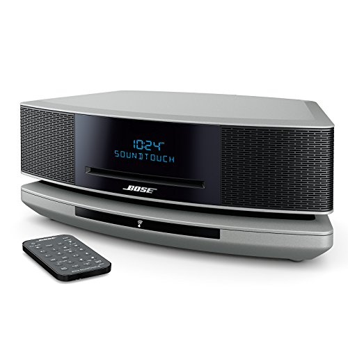 Bose Wave SoundTouch Music System IV, works with Alexa - Platinum Silver