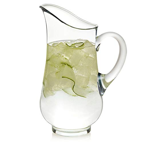 Libbey Atlantis Glass Pitcher, 73-ounce