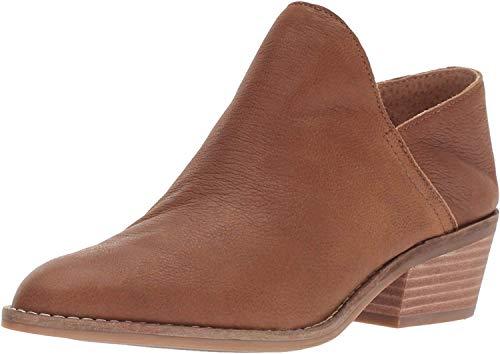 Lucky Brand Women's Fausst Ankle Boot, Cedar, 7.5 Medium US