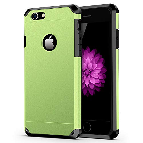 ImpactStrong iPhone 6 / 6s Case, Heavy Duty Dual Layer Protection Cover Heavy Duty Case for Apple iPhone 6 / 6s (Lime Green)