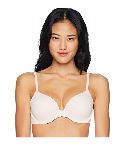 Calvin Klein Women's Perfectly Fit Lightly Lined Memory Touch T-Shirt Bra, 34DD, nymph's thigh