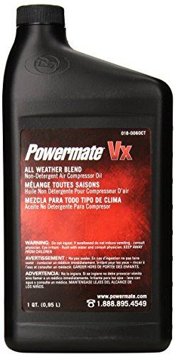 Powermate 018-0060CT Air Compressor Oil, 1-Quart