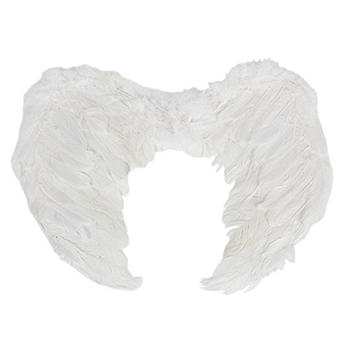 PGXT Halloween Party Costumes Feather Angel Wing (White / 6045cm)