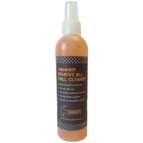 Hammer Bowling Remove All Bowling Ball Cleaner- 8 Ounce Bottle