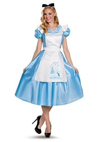 Classic Alice Deluxe Adult Costume Medium